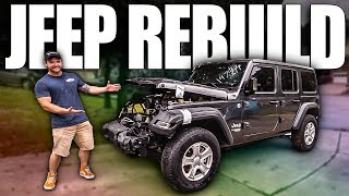 I GOT A WRECKED JEEP TO REBUILD! (Also more dually stuff)