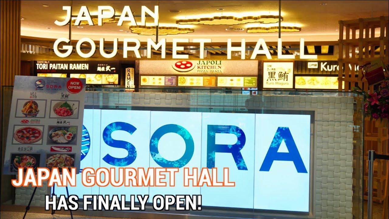 Sora Hall Japan Gourmet - YouTube