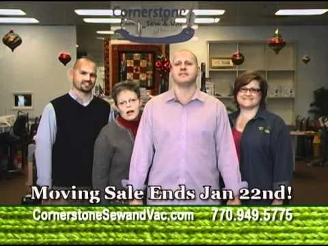 Cornerstone Sew And Vac Moving