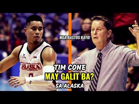 Tim Cone MAY GALIT BA? sa Alaska