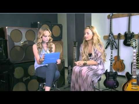 Demi Lovato's Live Chat - ACUVUE - 05/16/12 - Part 2