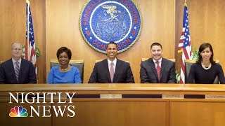 FCC To Vote On Barack Obama-Era Net Neutrality Rules This Week | NBC Nightly News thumbnail