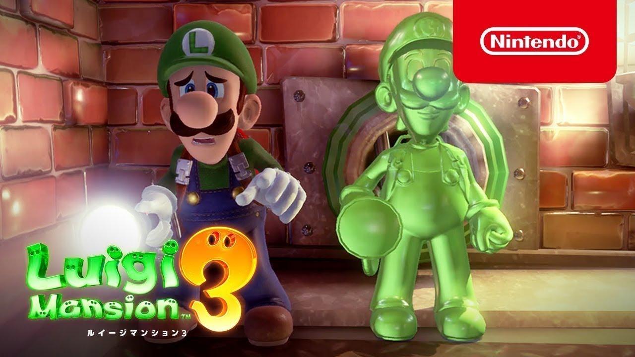 Ιαπωνικό trailer για το Luigi's Mansion 3