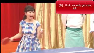 [TT Ai Chiang] Fukuhara Ai Chiang Hung-Chieh Couple TV Japan Show(English)