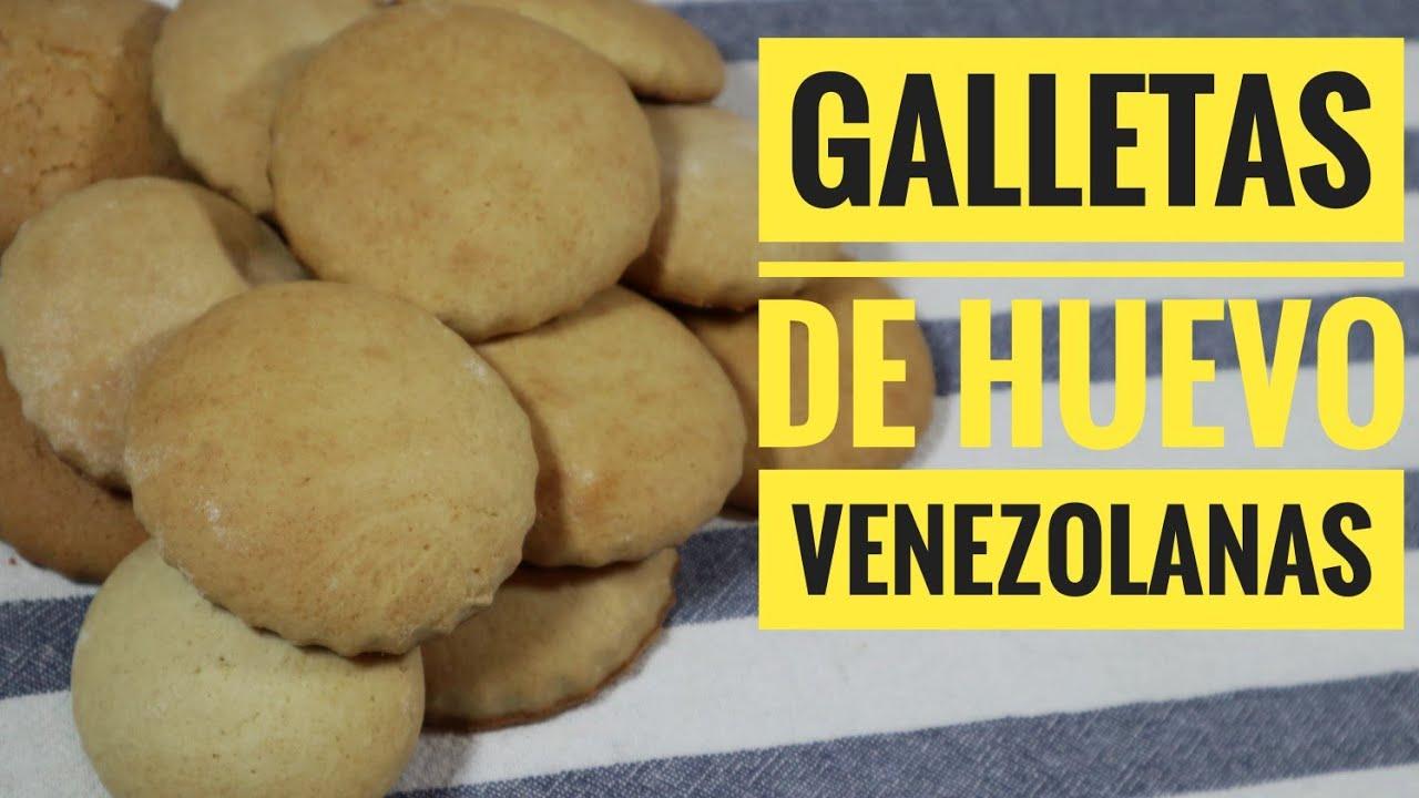 GALLETAS DE HUEVO VENEZOLANAS /  Como hacer Galletas de huevo / Fácil y Rápidas