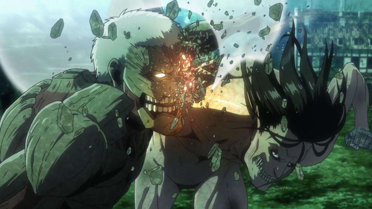 """Shingeki no Kyojin 進撃の巨人 OP / Opening """"Shoukei to Shikabane no Michi"""" - Linked Horizon"""