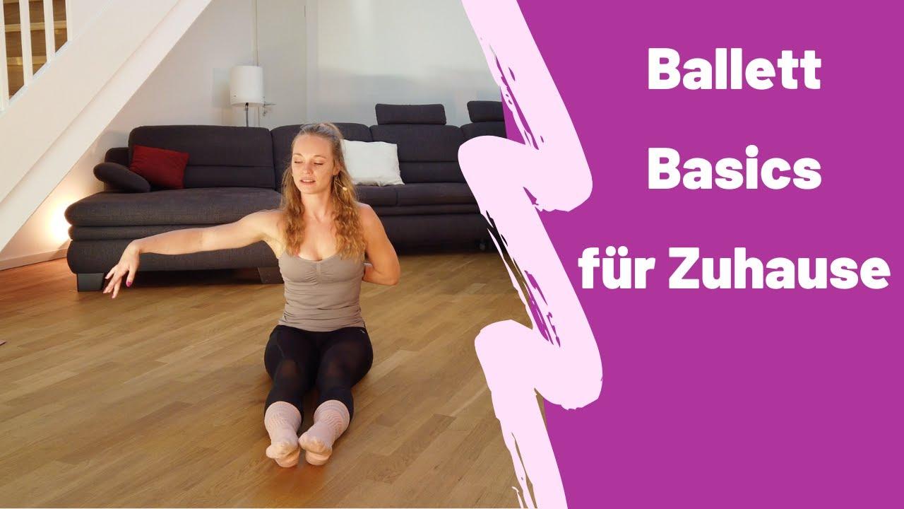 Ballett-Workout für Anfänger // Tanzen lernen für Zuhause