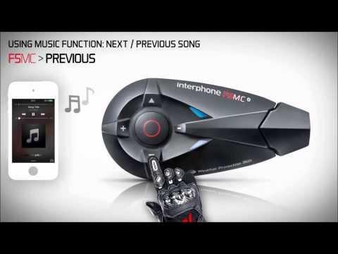 Interphone F5MC Music Video Tutorial on www.HondaBikes.gr