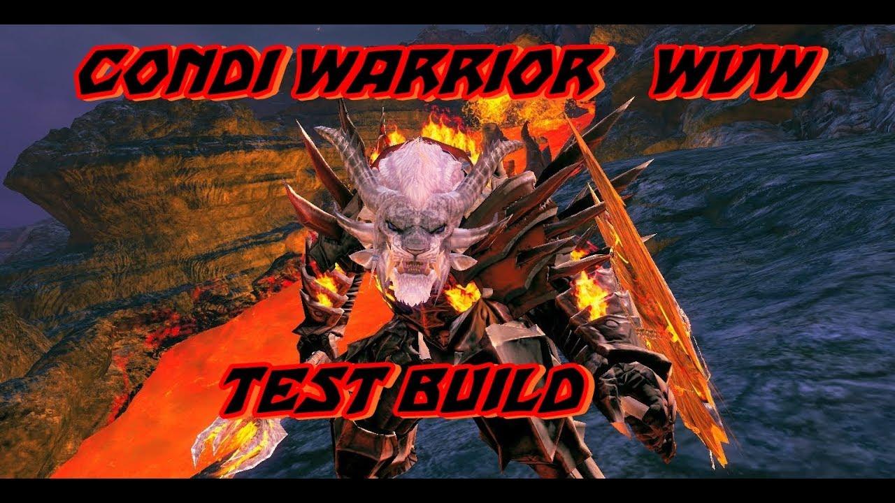 GW2 WvW Condition Warrior Berserker (TEST) Build !!