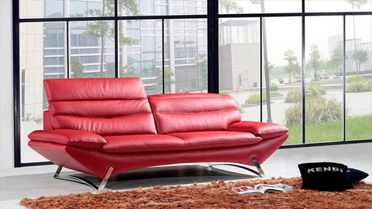 Modern Italian Leather Furniture - YouTube