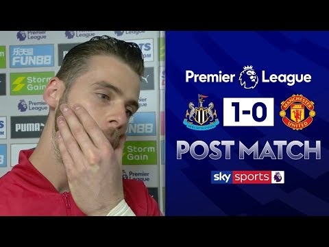 De Gea lost for words after defeat to Newcastle | David de Gea Post Match | Newcastle 1-0 Man Utd