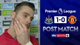 De Gea lost for words after defeat to Newcastle  David de Gea Post Match  Newcastle 1-0 Man Utd
