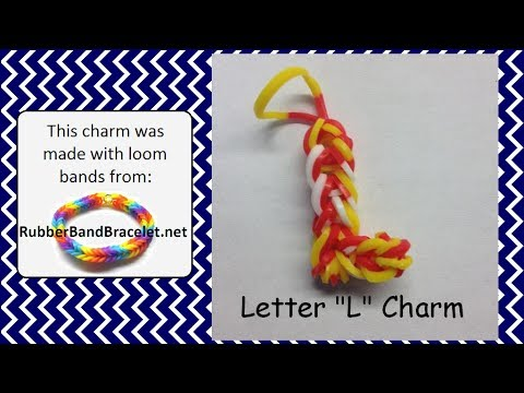 How To Make The Letter G Out Of Loom Bands