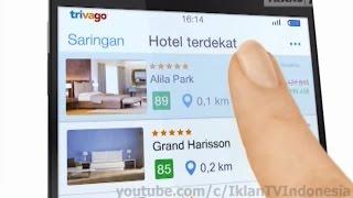 Iklan Trivago App untuk IOS dan Android