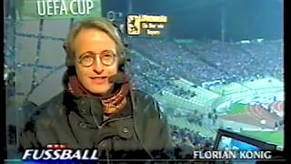 Beginn von 1860 München vs Rapid Wien 1997