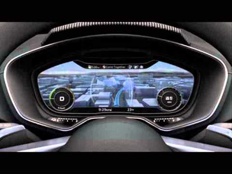 All New 2014 Audi Allroad Shooting Brake Concept- Interior & Technical Details