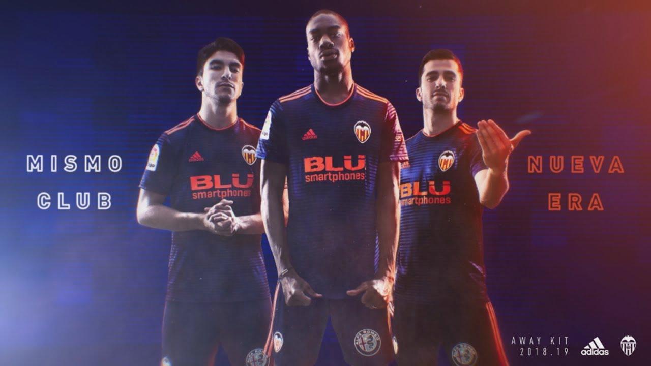segunda equipacion Valencia CF nuevo