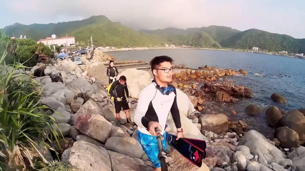 東北角 龍洞攀巖跳水場 自由潛水 Z.C.freediver - YouTube