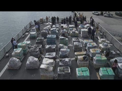 Drug bust: Cocaine with street value of '$2bn' seized in Pacific