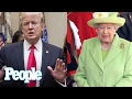 Donald Trump's Visit To The U.K. Puts The Queen In A 'Very Difficult Position' | People NOW | People