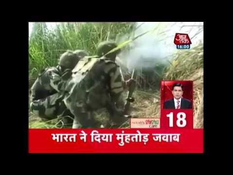 Nonstop 100 | पाकिस्तान ने फिर तोड़ा सीजफायर; भारत ने दिया मुंहतोड़ जवाब