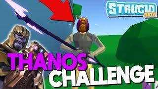 THANOS Challenge In Strucid...*I WON* (Roblox Fortnite)