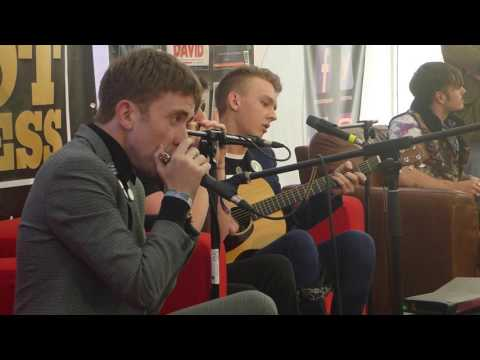 The Strypes @hot press chat room live at Electric Picnic 2016