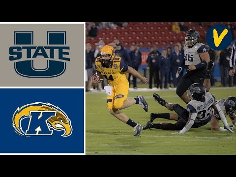 Utah State vs Kent State Highlights | 2019 Frisco Bowl | College Football Highlights