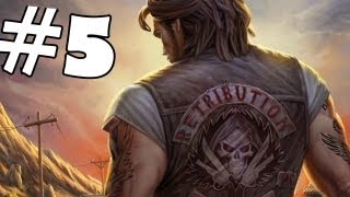 Ride to Hell Retribution Walkthrough Part 5 Gameplay Review Lets Play Playthrough PC/PS3/Xbox 360