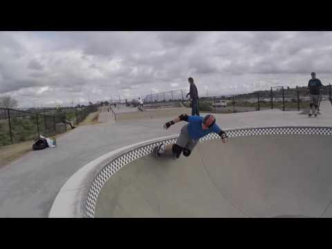 Transition skate progress - 9 months skating - Alex Road (Prince Park), Oceanside