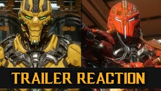 MK11 Launch Trailer - Live Reaction with K&M