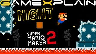 Night Time in Super Mario Maker 2's Castles! (All 4 Styles!)