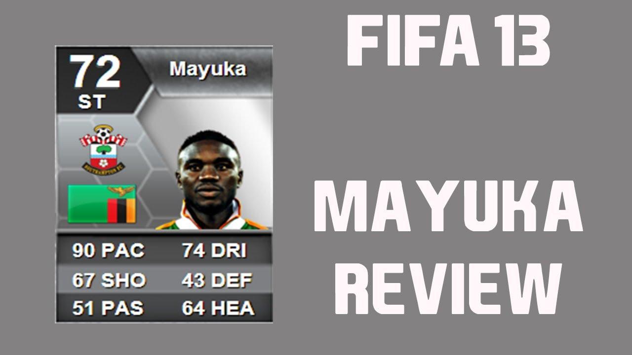 FIFA 13 Emanuel Mayuka