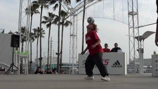 PIXY vs YOSSHI - Freestyle Football WFSLeague Japan Final 2011 TOP 8