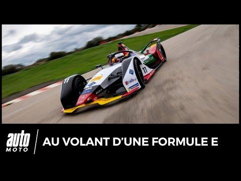 Formule E : notre essai de la monoplace 100% électrique