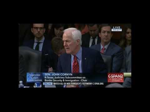 "Cornyn: If Hillary Clinton had Won, ""We'd Never Hear Merrick Garland's Name Again"""