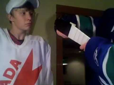 how to put hockey tape on a stick