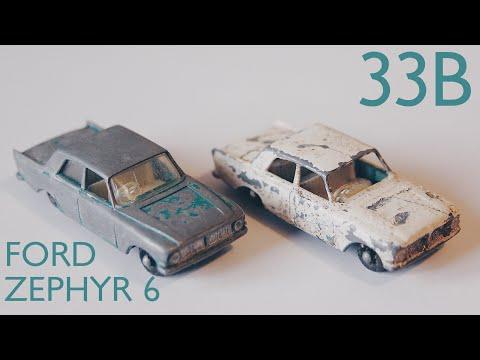 MATCHBOX Restoration: No. 33B Ford Zephyr 6 - DIECASTRESTOS