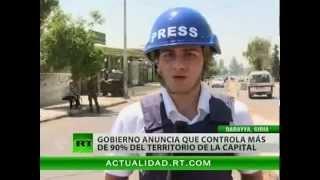 Observadores de la ONU, mal recibidos en zonas bajo control de la oposición