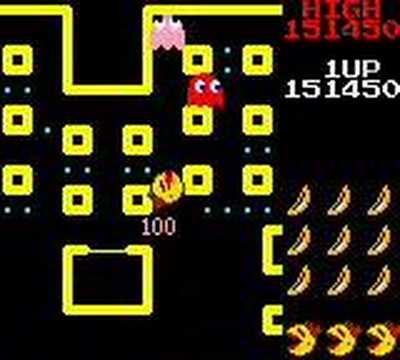 Ms. Pac-Man:  Game Boy Only Level #1