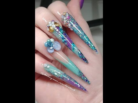 Acrylic Nails/collab with Stacey Ward Nail Artist