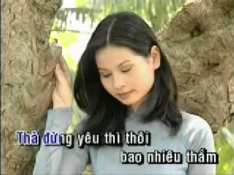 Danny Vu - Con Nho Con Thuong Karaoke