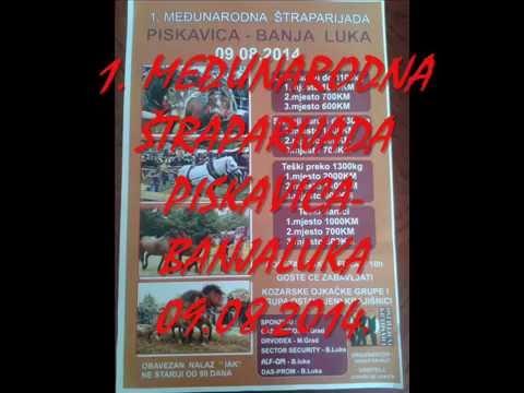 1.MEĐUNARODNA ŠTRAPARIJADA PISKAVICA-BANJALUKA 09.08.2014. KOD DRVODEXA I GAS PETROLA