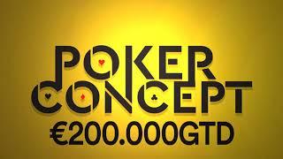 Poker Concept €200.000GTD - Saint Vincent -