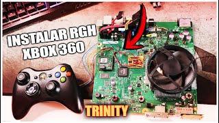 Instalar RGH en una Xbox 360 Slim TRINITY | Chipear XBOX 2019