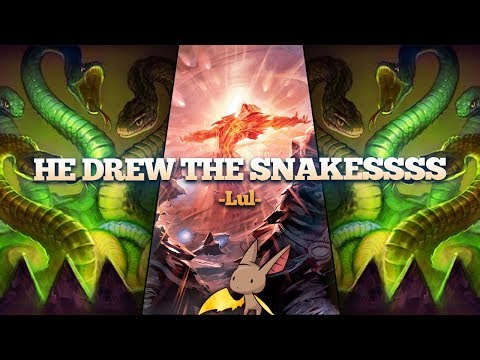 He Drew the Snakes!
