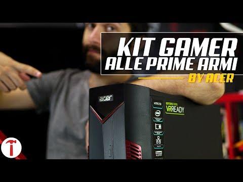 Il KIT COMPLETO per il Gamer alle prime armi