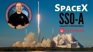 #SpaceX Falcon 9 SSO-A: SmallSat Express 🔴 Live Launch Commentary