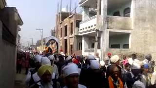 Shobha yatra Gurupurb Shri Guru Ravidas Maharaj at