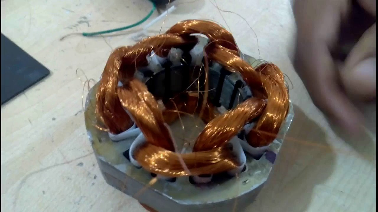 How To Make Table Fan Terminal Coil Connection Fitting And